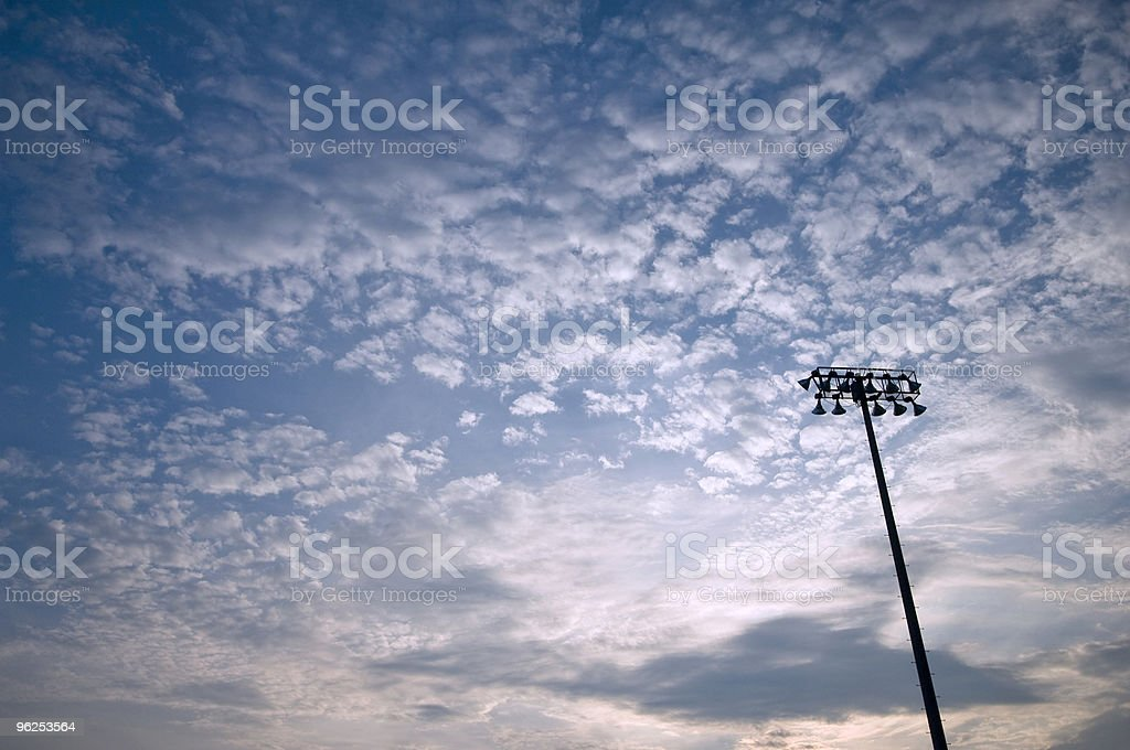 Stadium Lights - Royalty-free Abstract Stock Photo