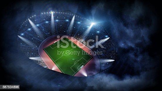 istock Stadium night 3d 587534896