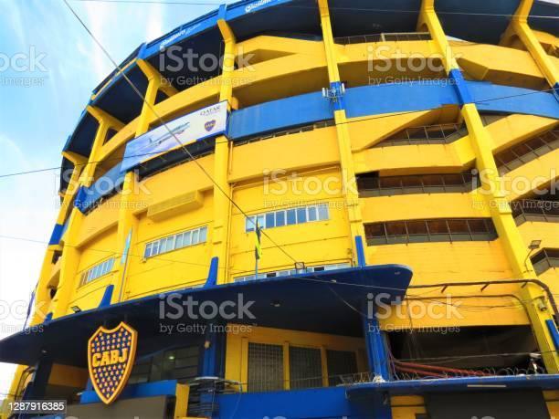 Foto de Estádio Do Boca Juniors Em Buenos Aires e mais fotos de stock de Amarelo