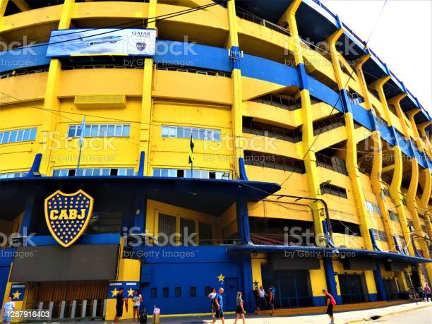 Photo libre de droit de Stade De Boca Juniors À Buenos Aires banque d'images et plus d'images libres de droit de Amérique du Sud