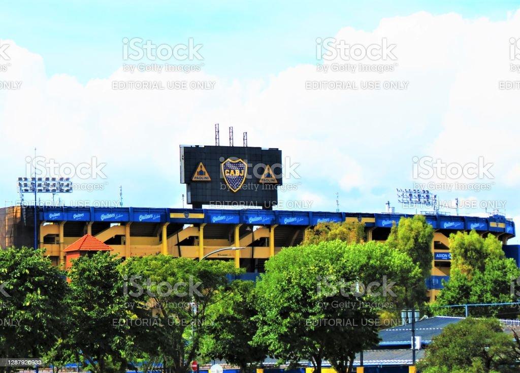 Stade de Boca Juniors (La Bombonera) à Buenos Aires. - Photo de Amérique du Sud libre de droits