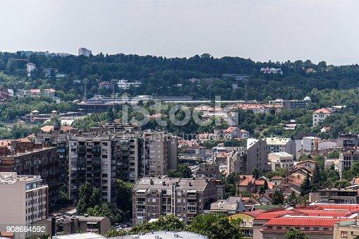 istock Stadium of Football Club Partizan 908664592