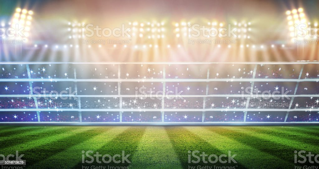 stadium royalty-free stock photo