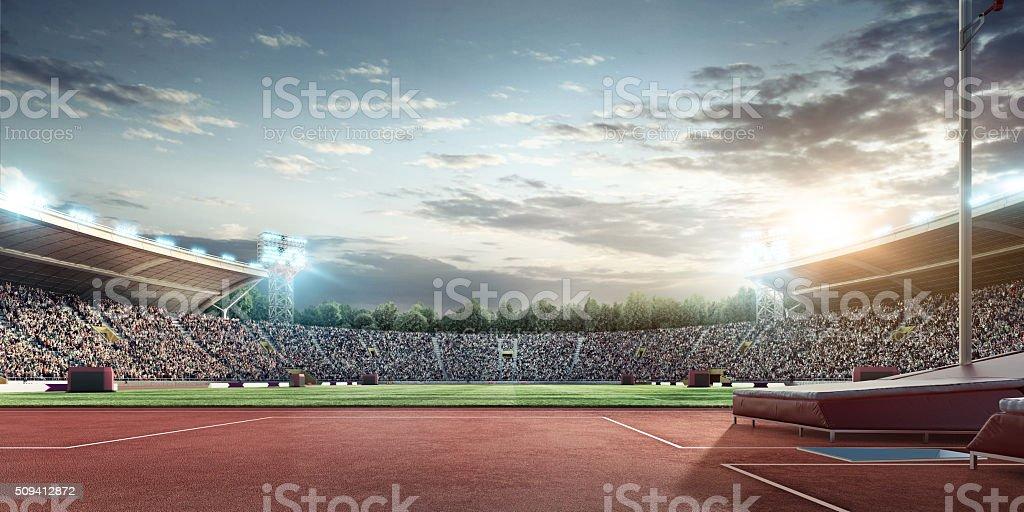 オリンピック競技場 ストックフォト