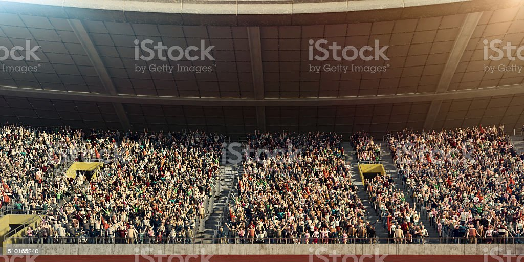 . stadium stock photo