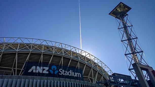 ANZ Stadium stock photo