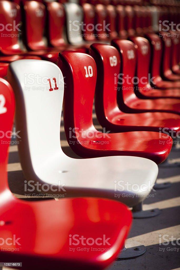 VIP Stadium seat royalty-free stock photo