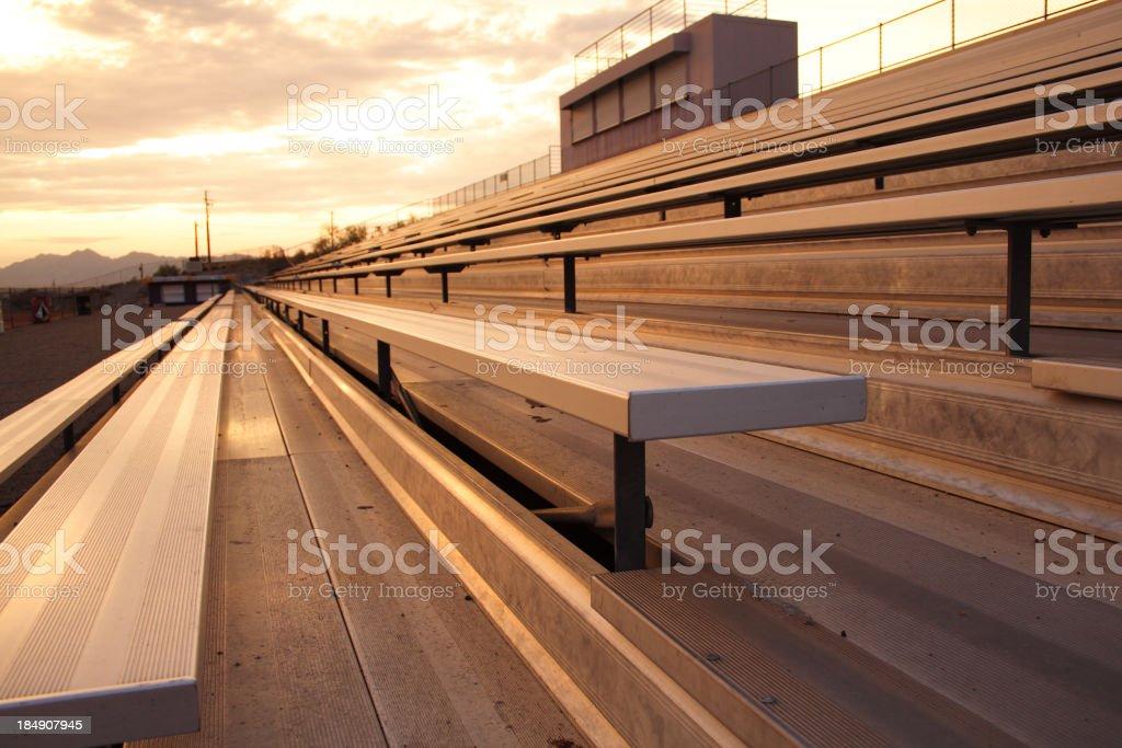 Stadium seat stock photo