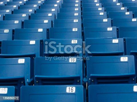 171581046istockphoto Stadium seats 139886572