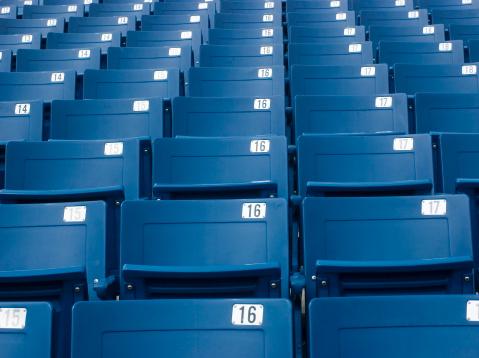 171581046 istock photo Stadium seats 139886572