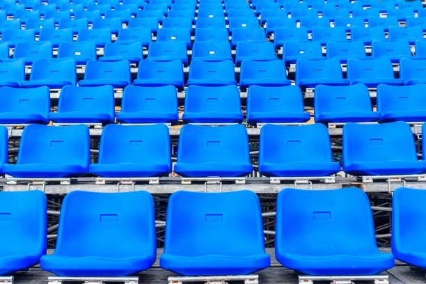 estádio assentos  - banco assento - fotografias e filmes do acervo