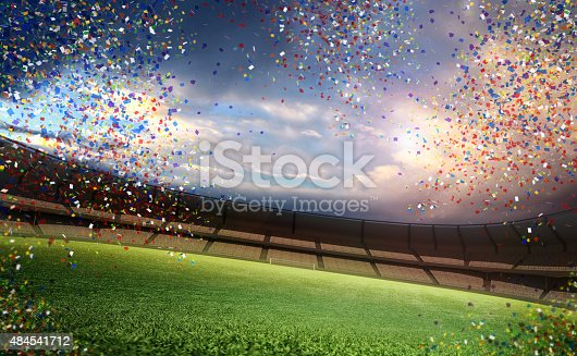 508552962 istock photo stadium with confetti 484541712