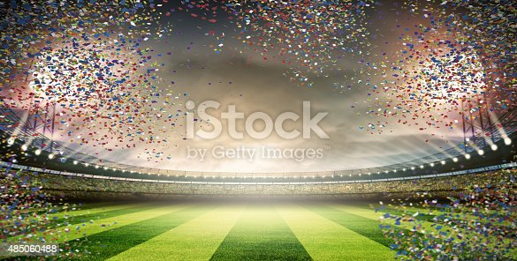 508552962 istock photo stadium with confetti 485060488