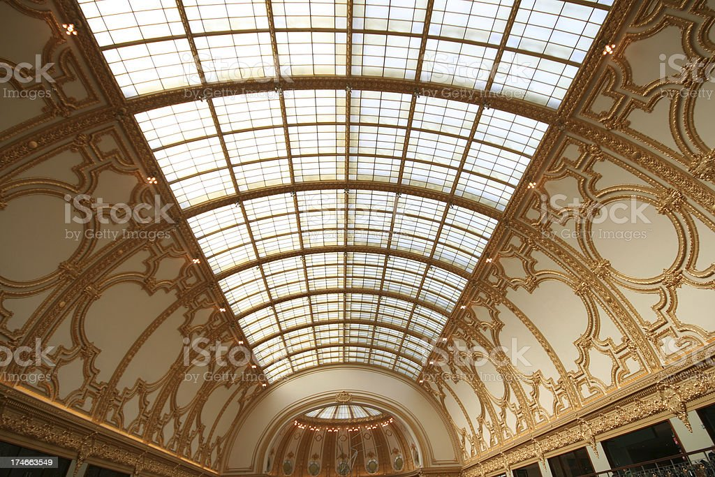 Stadsfeestzaal Roof royalty-free stock photo