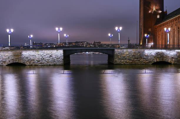 Stadshusbron - foto de stock