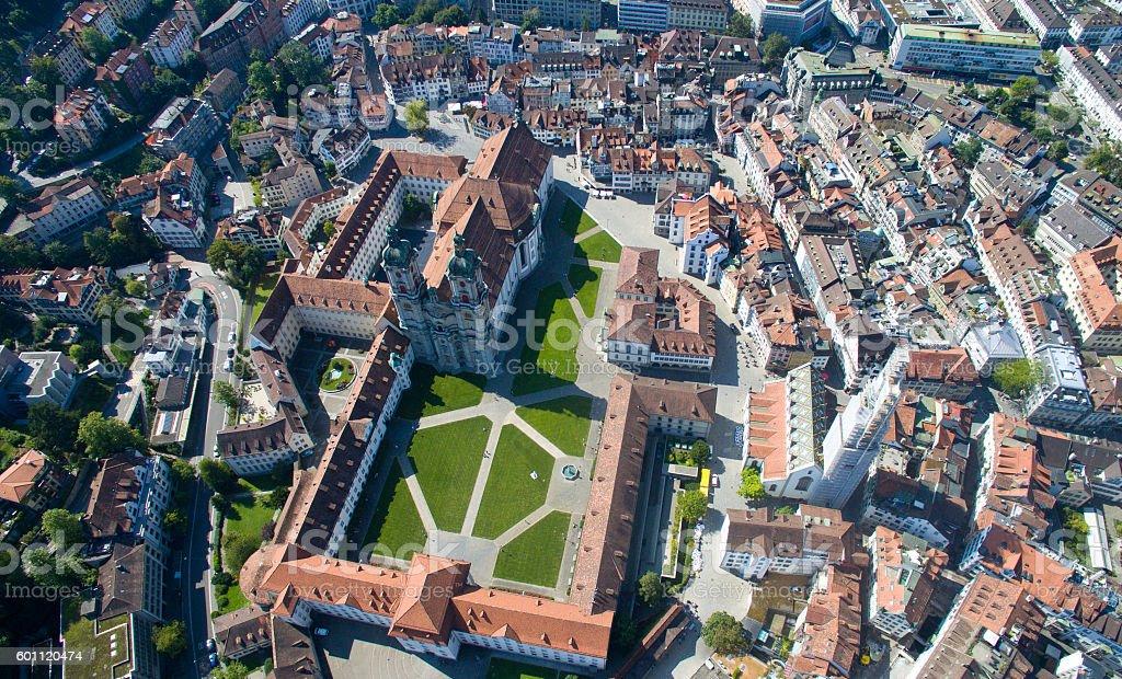 Stadt Sankt Gallen stock photo
