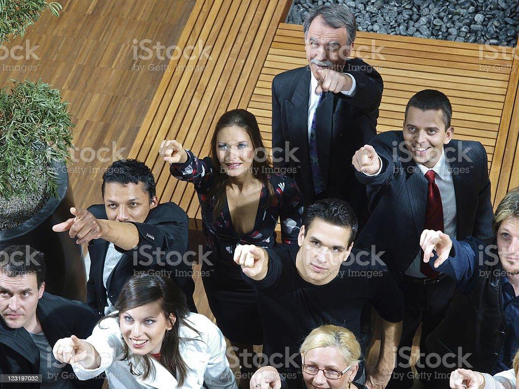 Staff meeting royalty-free stock photo