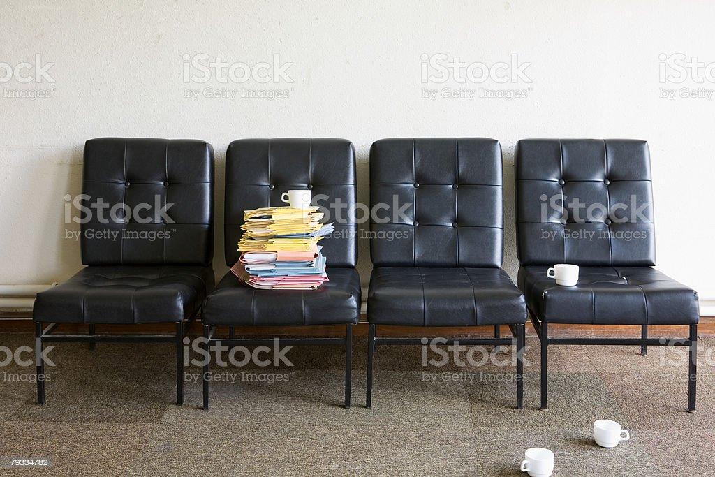 Sala de pessoal foto de stock royalty-free
