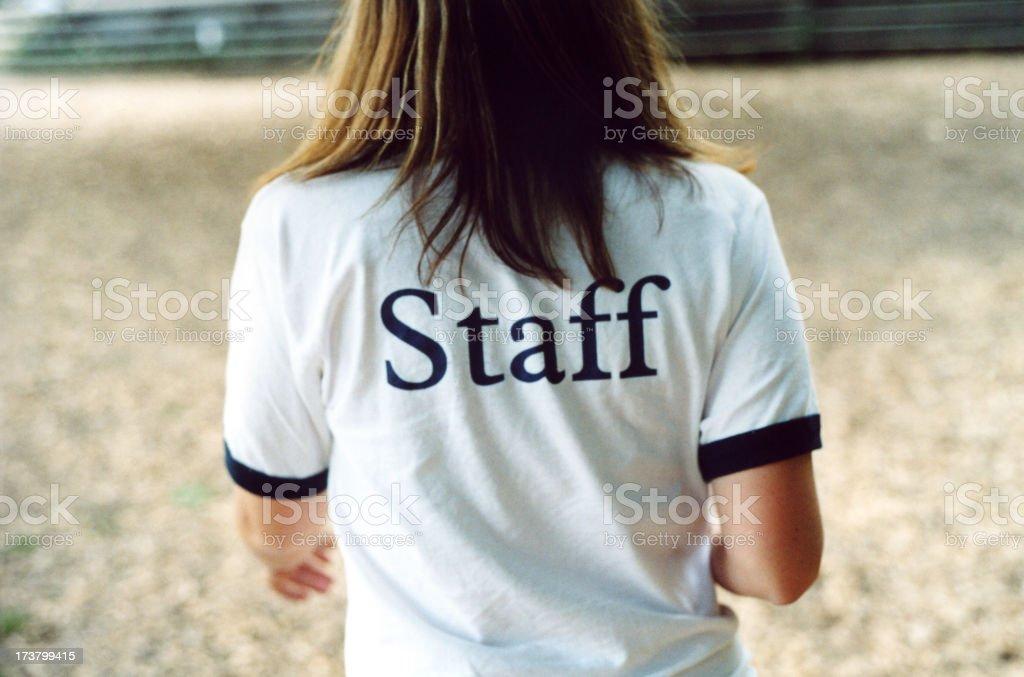 Staff Shirt royalty-free stock photo