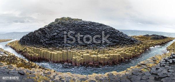 istock Staffa Island panorama 622181870