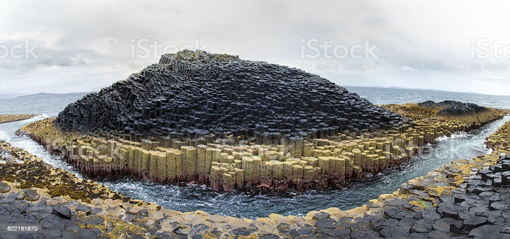 Staffa Island panorama - Photo