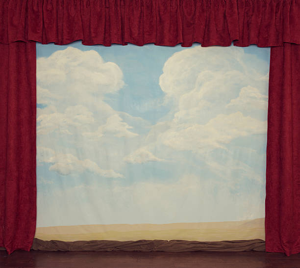stage background - circus background stock photos and pictures