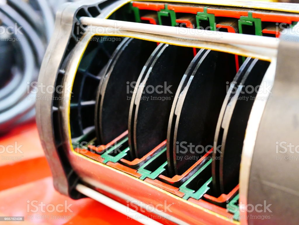 stage centrifugal pump stock photo