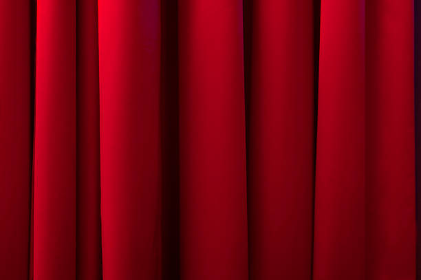 stage curtains - burlesque stock photos and pictures