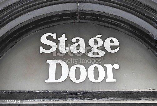 istock Stage Door 1175023141