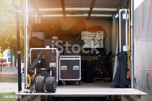 Stage - Performance Space, Equipment, Lighting Equipment, Illuminated, Light - Natural Phenomenon