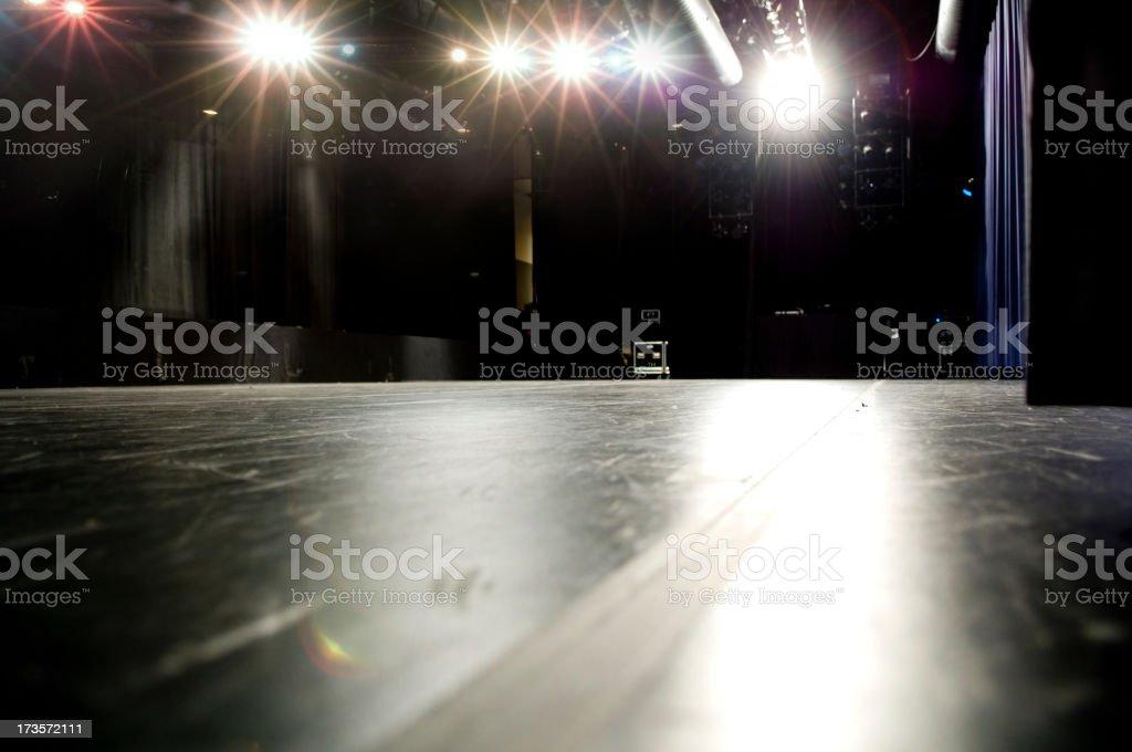 Stage Floor royalty-free stock photo