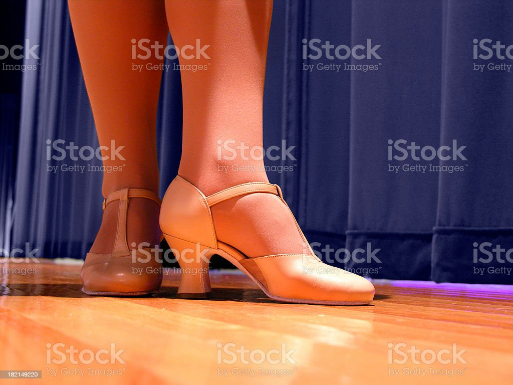 Stage Legs royalty-free stock photo