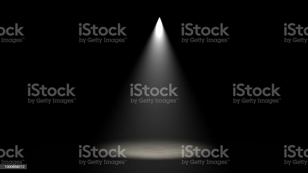 Stage Light CGI Lighting Equipment stock photo