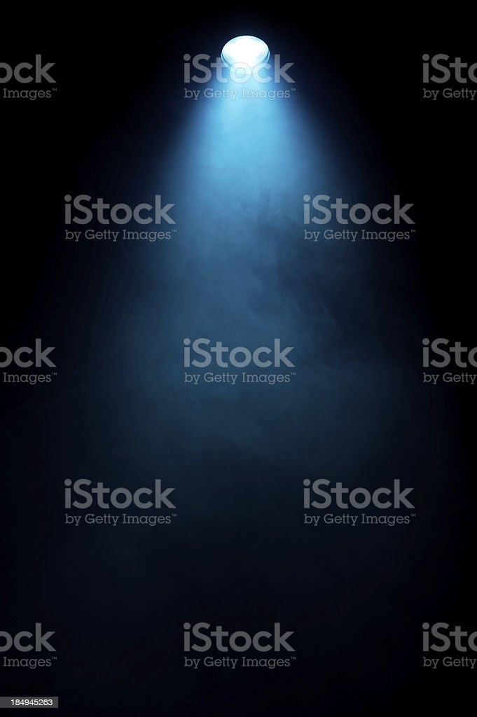 Stage light stock photo