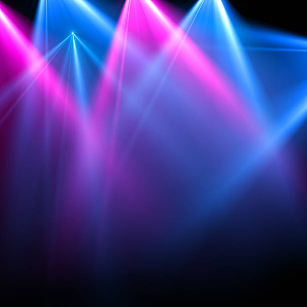stage light - nightclub stock photos and pictures