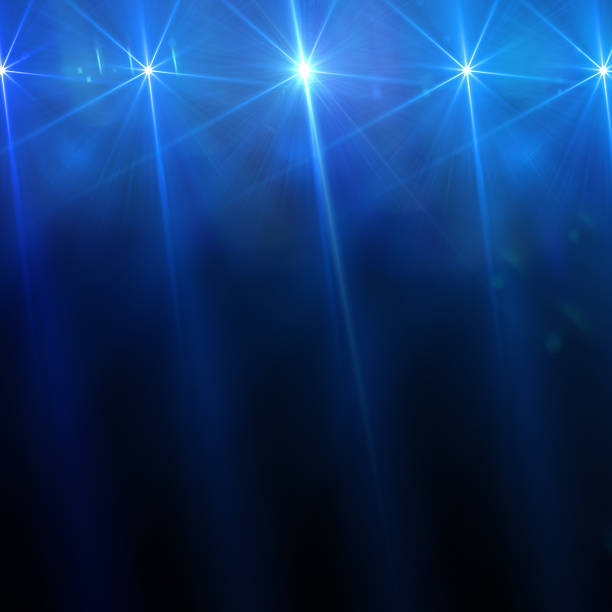 stage light - circus background stock photos and pictures