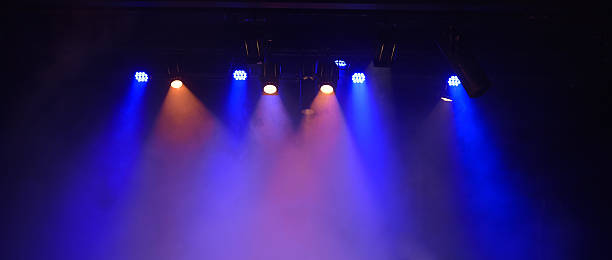 stage lighting - stage light stock pictures, royalty-free photos & images