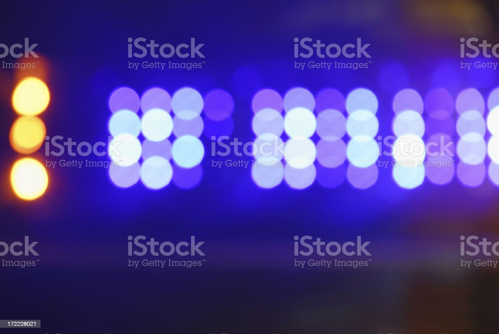 Stage lights abstract royalty-free stock photo