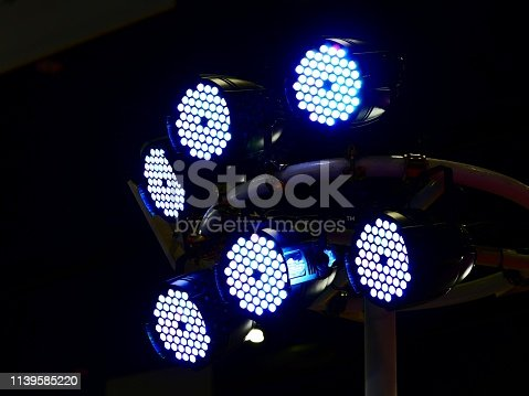 Stage Theater, Electric Lamp, Electric Light, Entertainment Club, Equipment