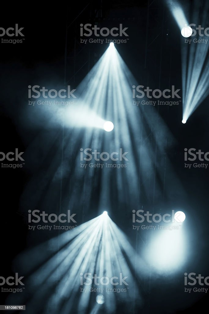 Stage lights royalty-free stock photo