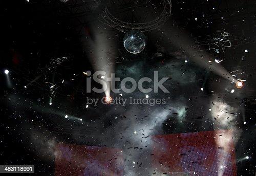 istock Stage lights 483118991