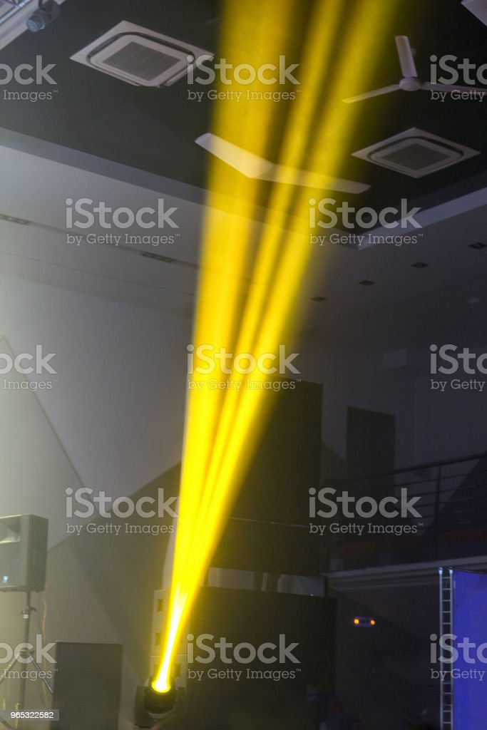 Stage lights. Soffits. Concert light royalty-free stock photo
