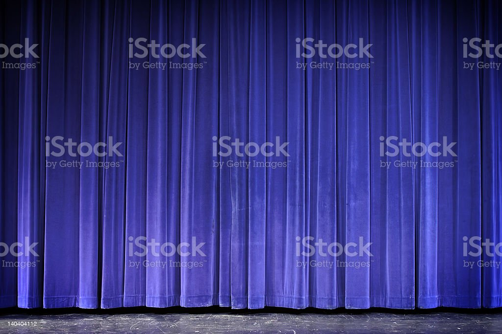 Stage royalty-free stock photo