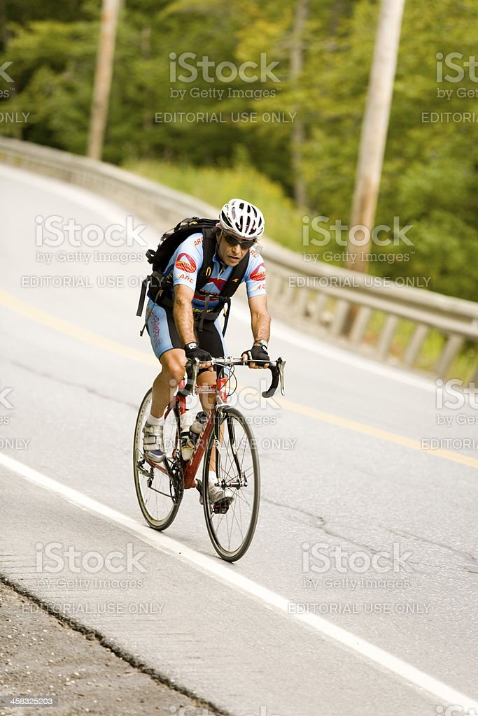 Stage Road Race Cyuclist stock photo