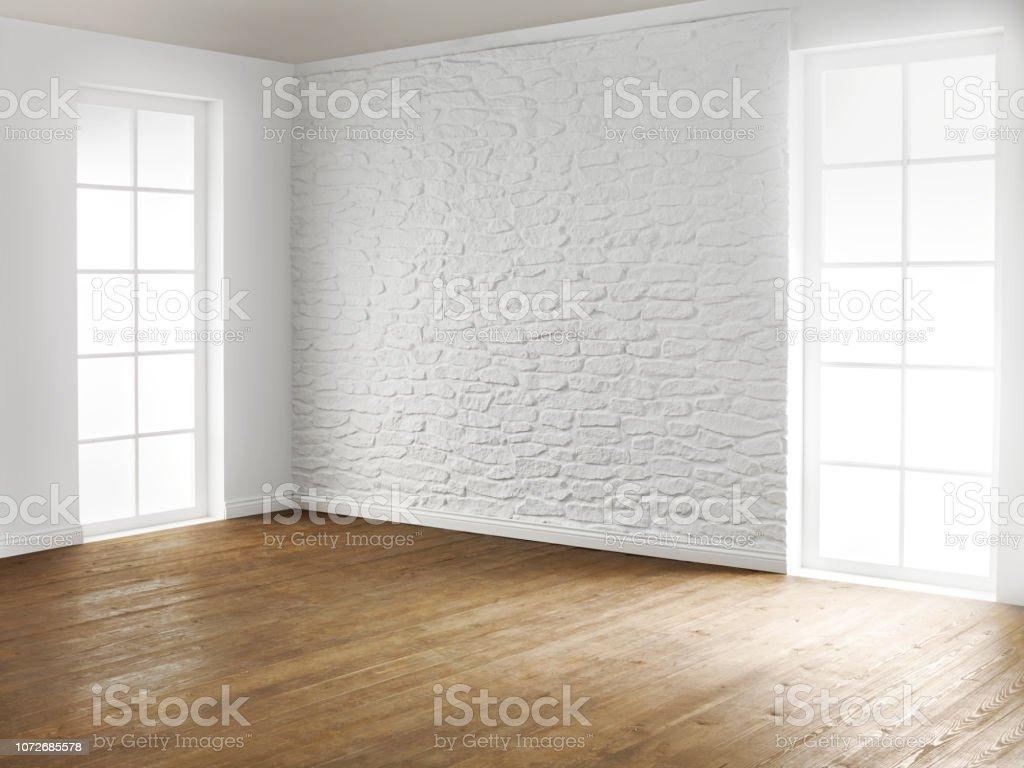 Stage set living room - Zbiór zdjęć royalty-free (Architektura)