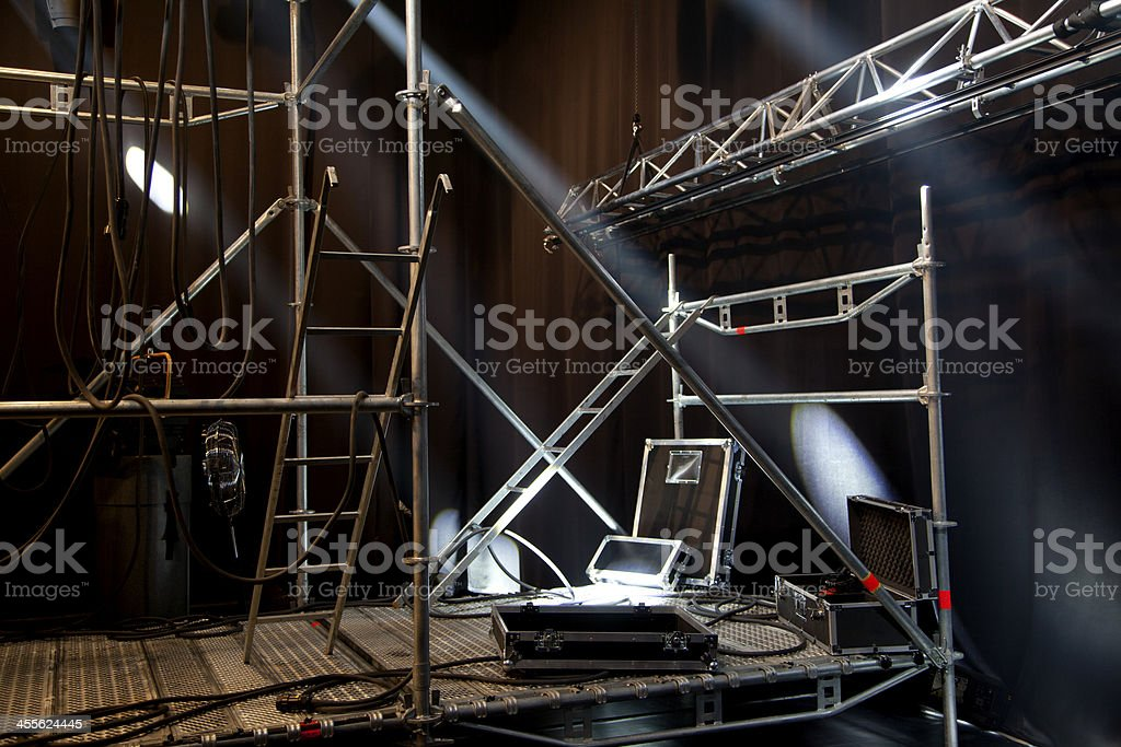 Stage Setup stock photo