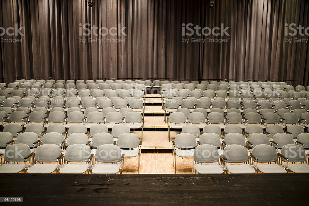 stage view royalty-free stock photo