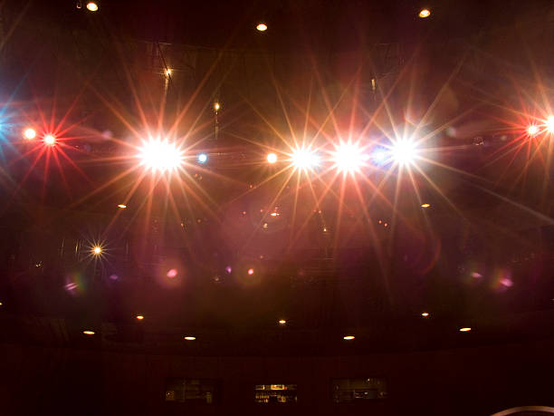 Stagelights - foto stock