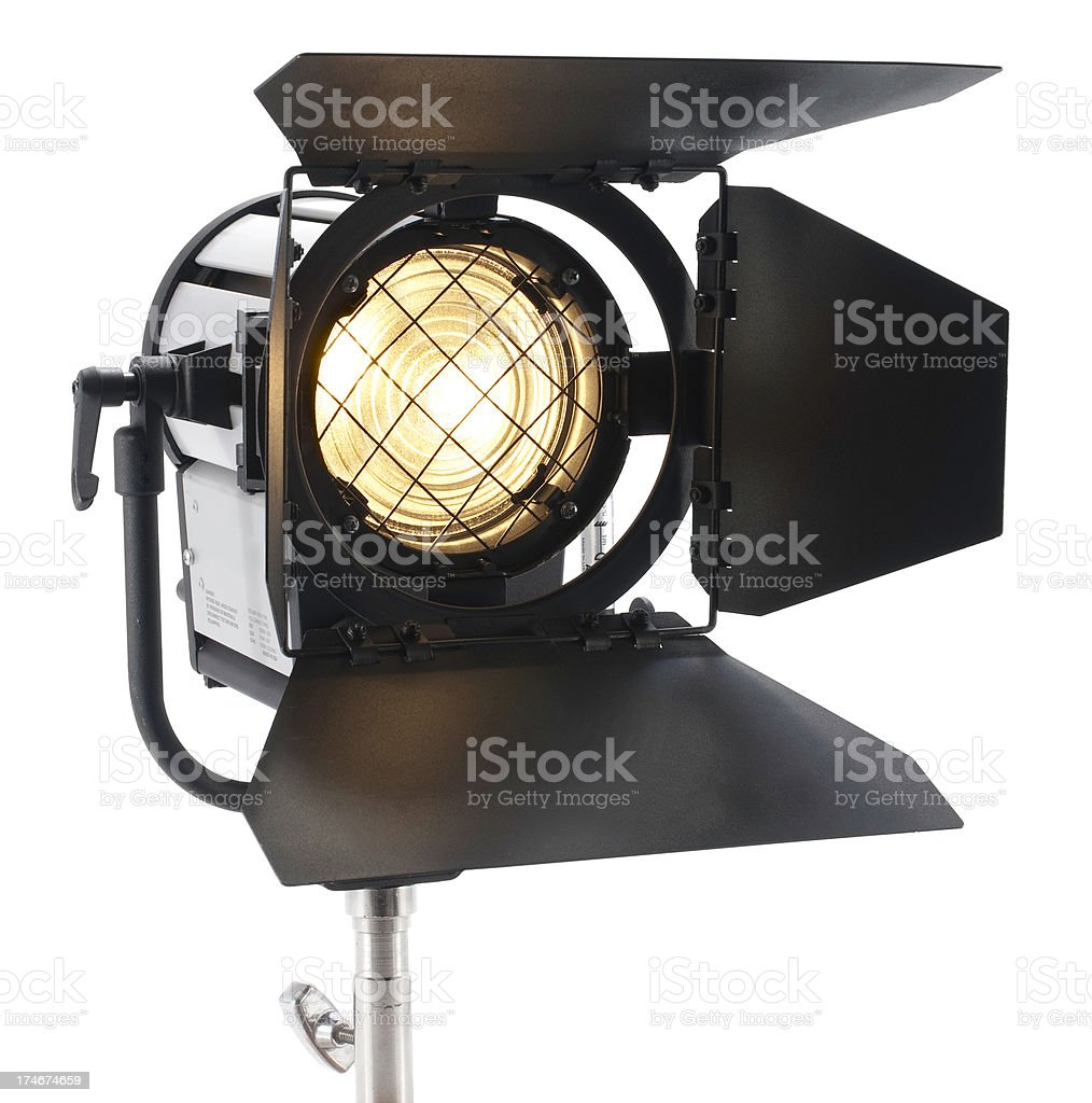 Staging Spot Light royalty-free stock photo