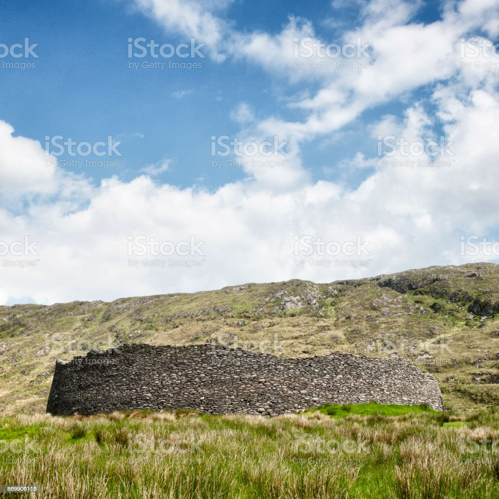 Staigue Stone Fort in County Kerry, Ireland stock photo